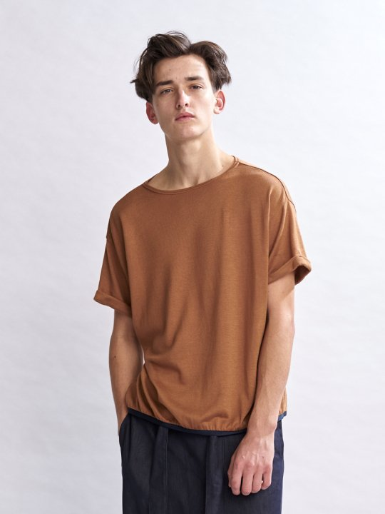 TROVE / JALKA WIDE TEE / CAMEL photo