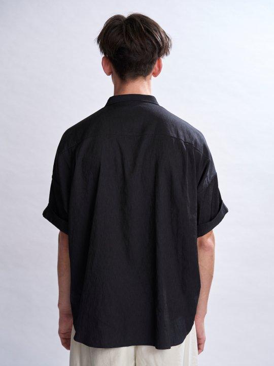 【予約商品】TROVE / VALO WIDE SHIRT / BLACK photo