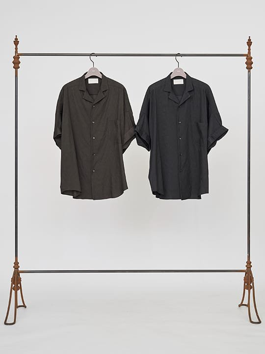 TROVE / VALO WIDE SHIRT / CHARCOAL photo