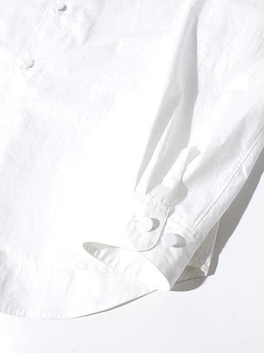 TROVE / INSIDE SHIRT / WHITE photo