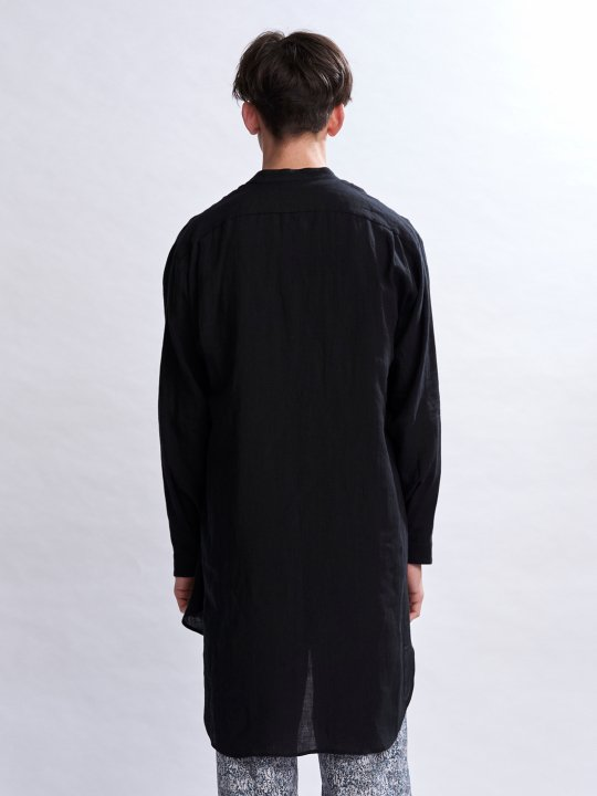 【予約商品】TROVE / MAALARI LONG SHIRT / BLACK photo