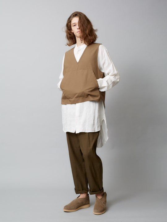【予約商品】TROVE / MAALARI LONG SHIRT / WHITE photo