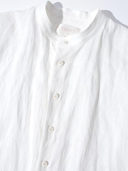 TROVE / MAALARI LONG SHIRT / WHITE photo