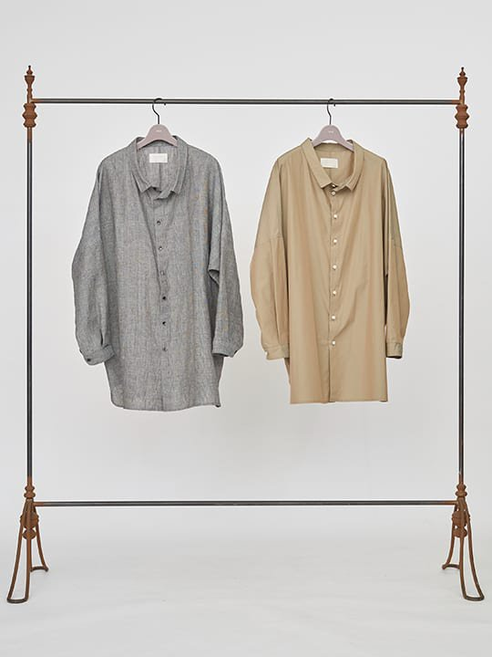 【予約商品】TROVE / UNI WIDE SHIRT / GLEN CHECK photo