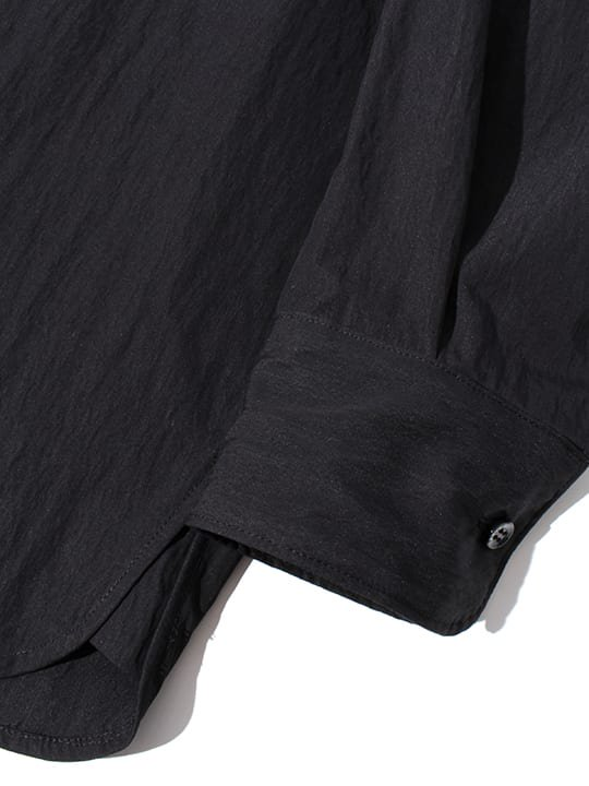 TROVE / ALUS WIDE SHIRT / BLACK photo