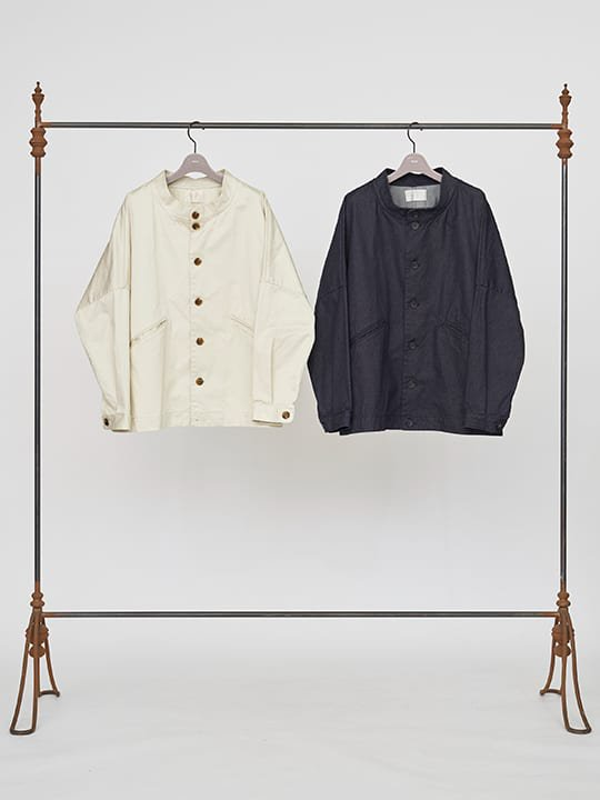 TROVE / KOVA BLOUSON / CREAM photo