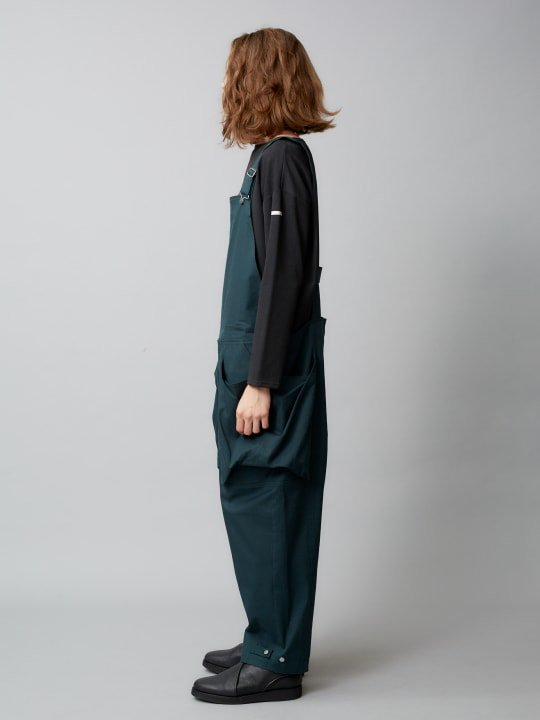 【予約商品】TROVE / BIG POCKET OVERALL ( SPRING SPEC ) / GREEN photo
