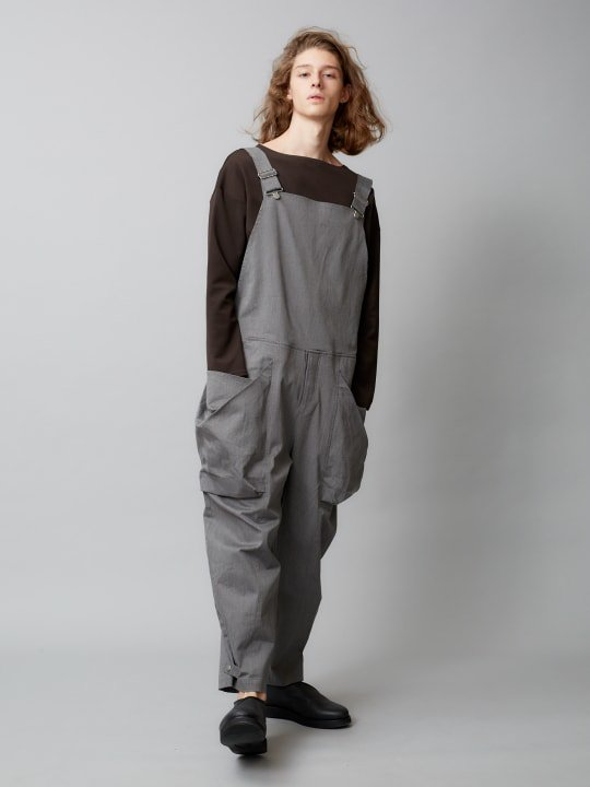TROVE / BIG POCKET OVERALL ( SPRING SPEC ) / GRAY photo