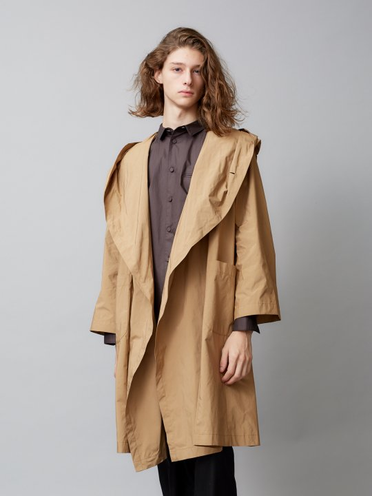 TROVE / KANGAS HOODED COAT ( SHOP LIMITED ) / BEIGE photo