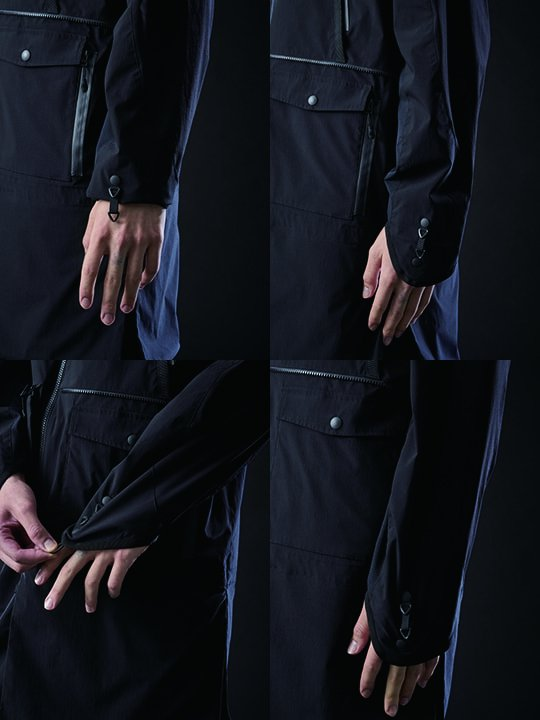 【PRE-ORDER】TROVE / 2WAY ANORAK / BLACK photo