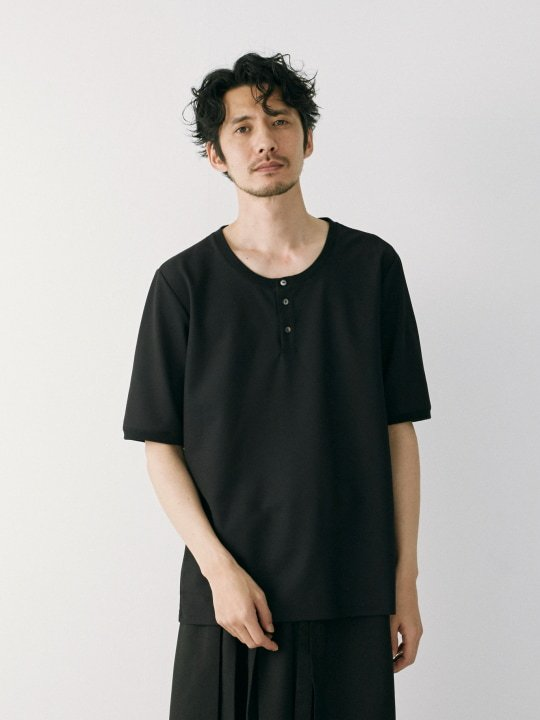 WAROBE / JIJI TEE / BLACK photo