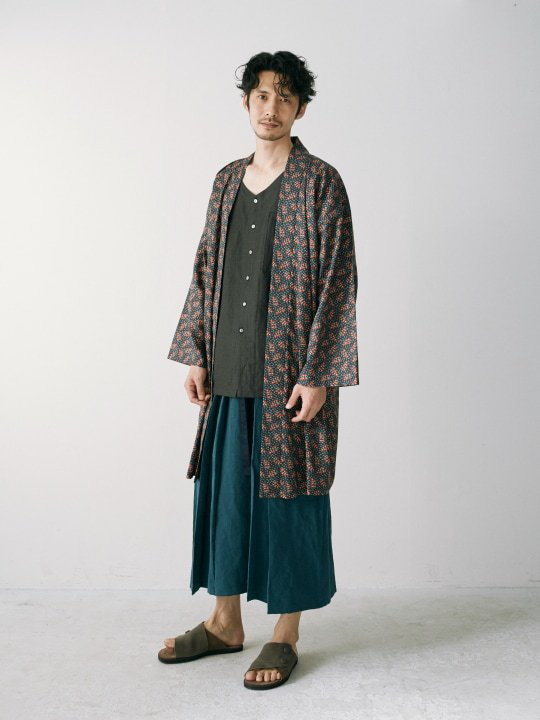 WAROBE / HAKAMA ANDON / BLUE GREEN photo