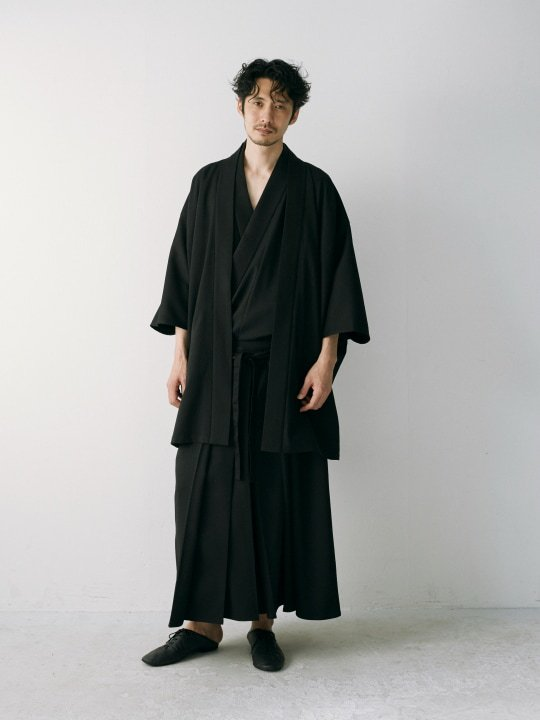 【PRE-ORDER】WAROBE / HAKAMA / BLACK photo