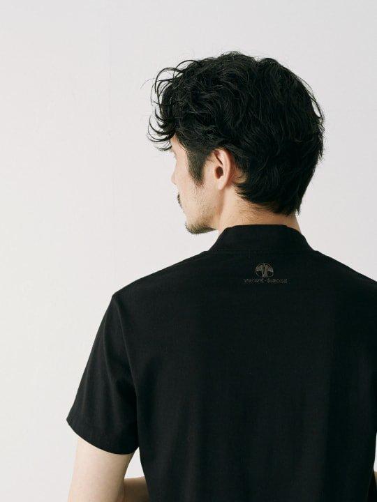 WAROBE / JUBAN TEE / BLACK photo