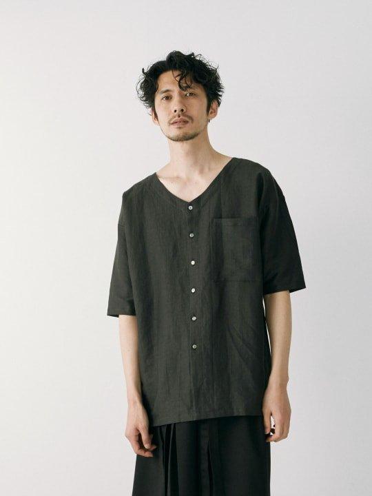 WAROBE / STRIPE KOIKUCHI / BLACK photo