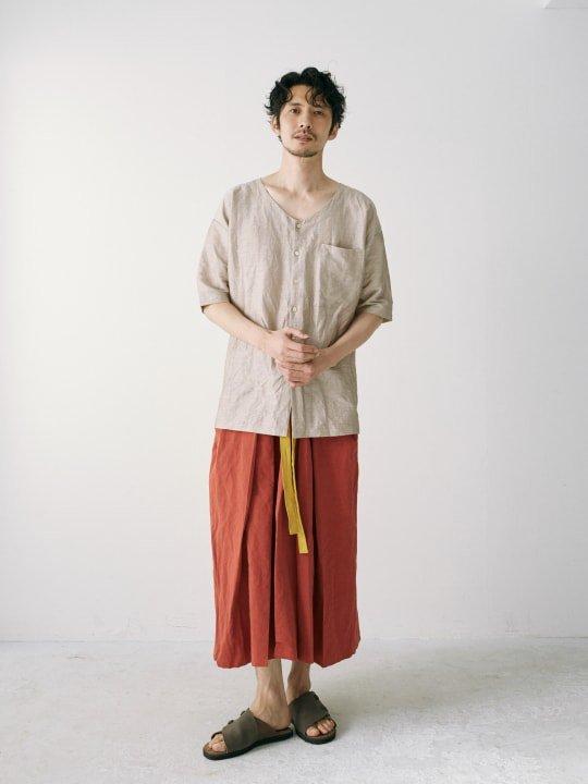 WAROBE / STRIPE KOIKUCHI / GRAY photo