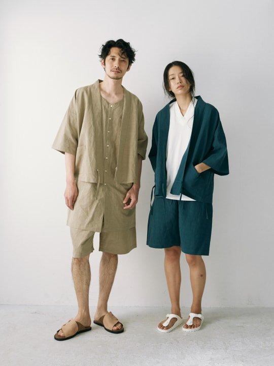 WAROBE / JINBEI / GRAY BEIGE photo
