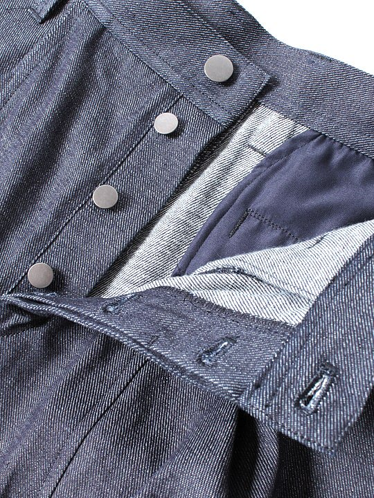 TROVE / BIG POCKET PANTS / INDIGO photo
