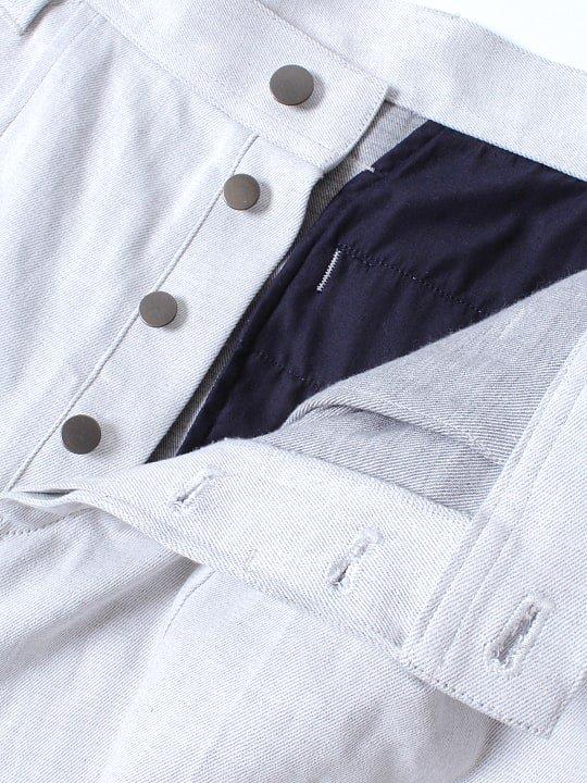 TROVE / BIG POCKET PANTS / HEATHER WHITE photo