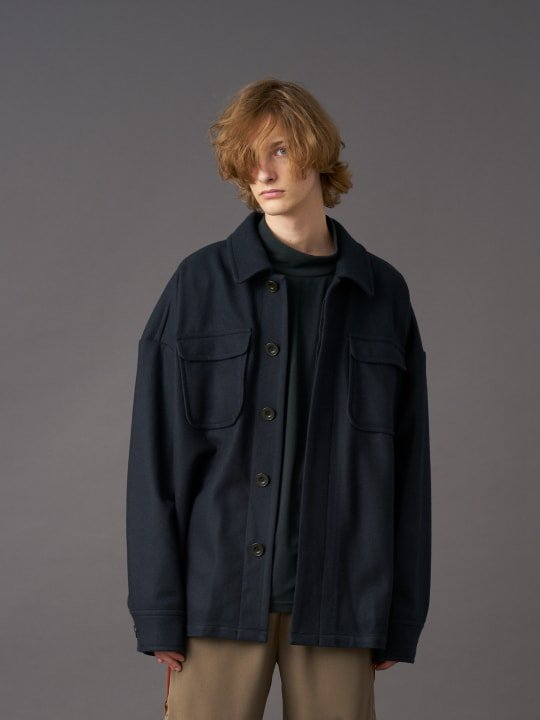 TROVE / ILTA BLOUSON / DARK GREEN photo