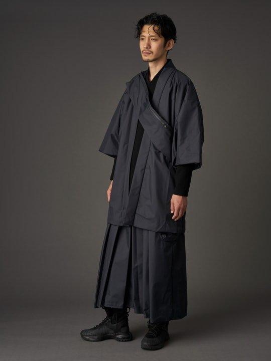 WAROBE / THREE LAYER HAKAMA TECH / BLACK photo