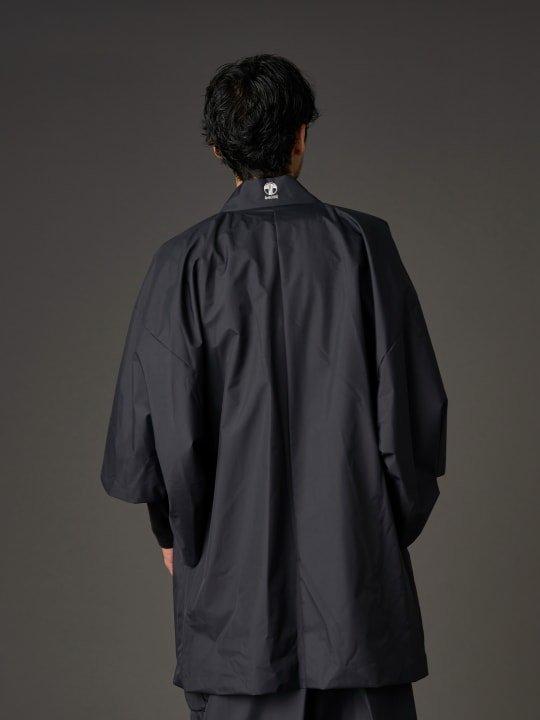 【PRE-ORDER】WAROBE / THREE LAYER HAORI TECH / BLACK photo