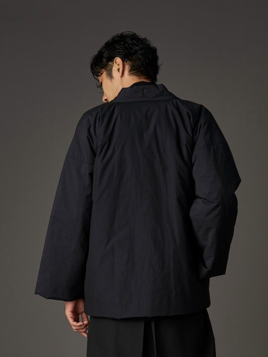 【PRE-ORDER】WAROBE / SALT SHRINKING DOTERA / BLACK photo