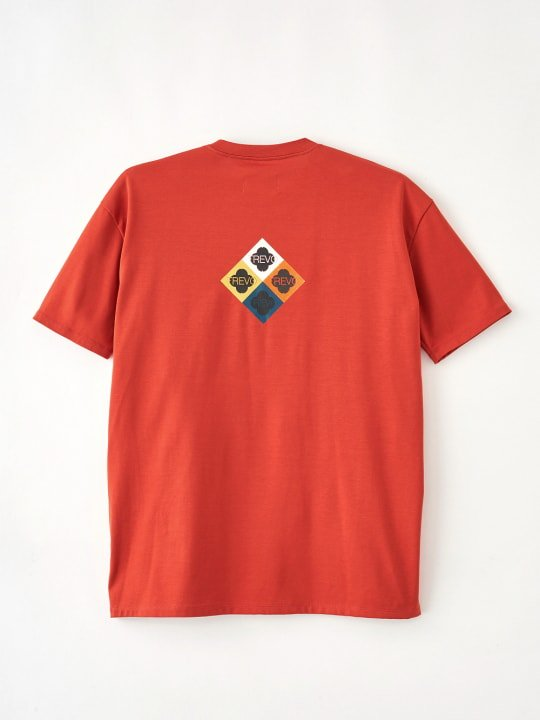TREVO / WIDE POCKET TEE / ORANGE photo