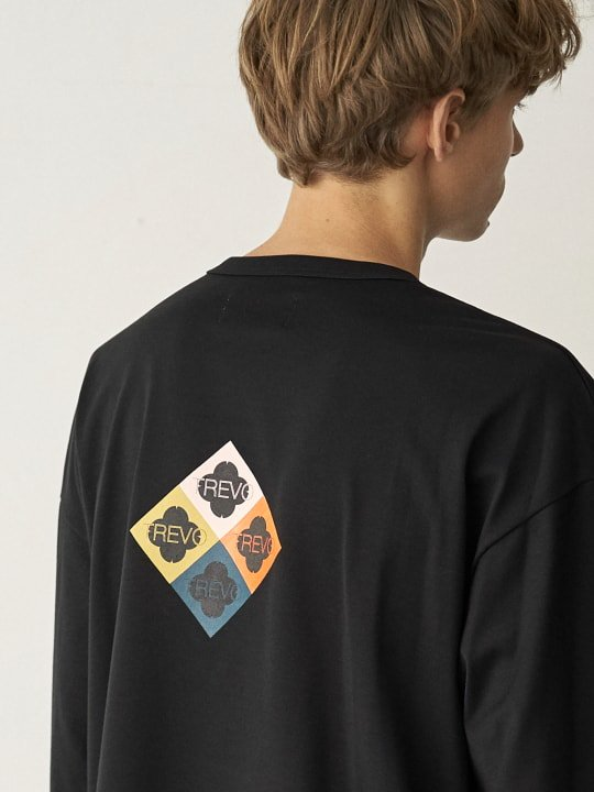 TREVO / LONG SLEEVE TEE / BLACK photo