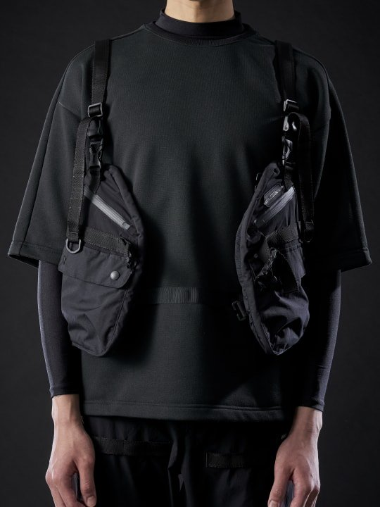 【PRE-ORDER】TROVERTEX / TVX-VEST-01 / BLACK photo