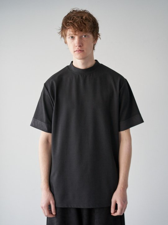 TROVE / HIGH-NECK T / BLACK photo