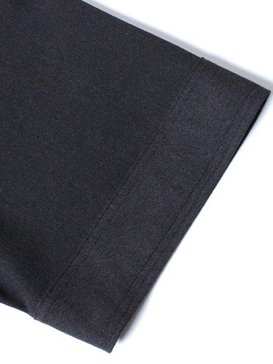 TROVE / HIGH-NECK T / BLACK photo