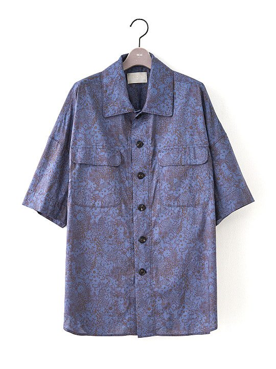 【PRE-ORDER】TROVE / LIBERTY SHIRT / NAVY photo