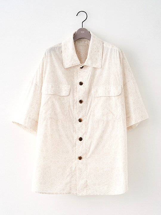 【PRE-ORDER】TROVE / LIBERTY SHIRT / ECRU photo
