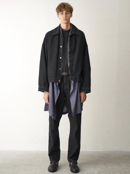 TROVE / DENIM PANTS / BLACK photo