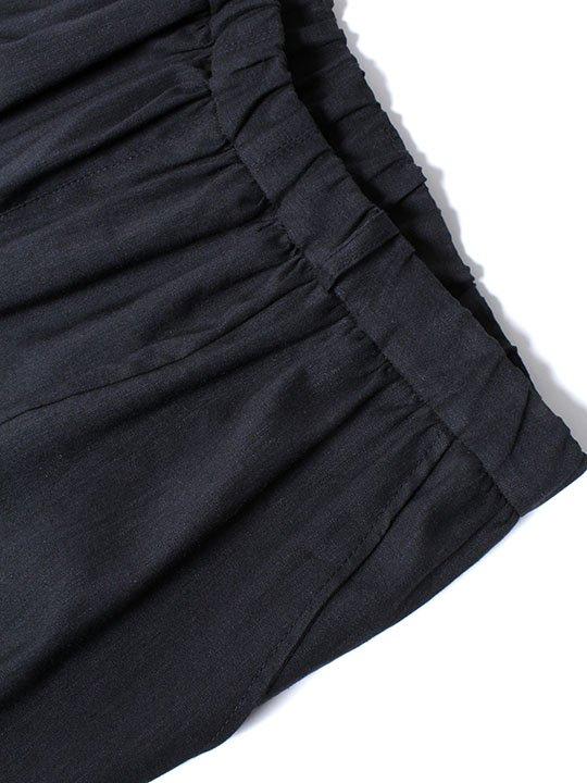 TROVE / RELAX PANTS / BLACK photo