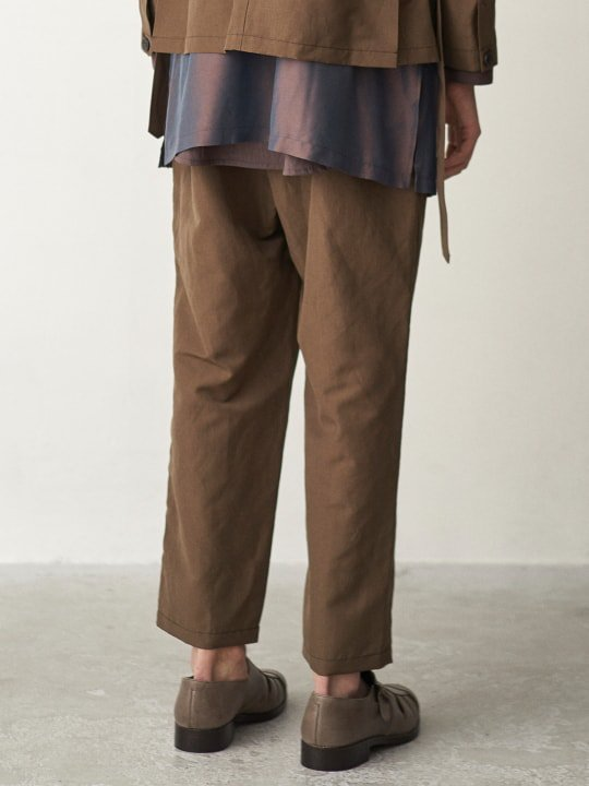 TROVE / RELAX PANTS / OLIVE BROWN photo