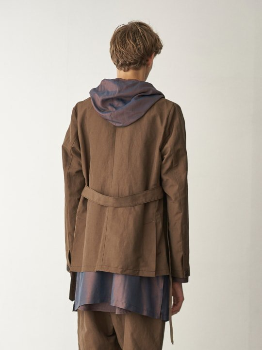 TROVE / RELAX JACKET / OLIVE BROWN photo