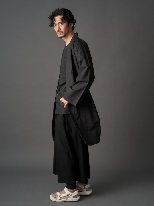 【PRE-ORDER】WAROBE / MOMOHIKI SWEAT / BLACK photo