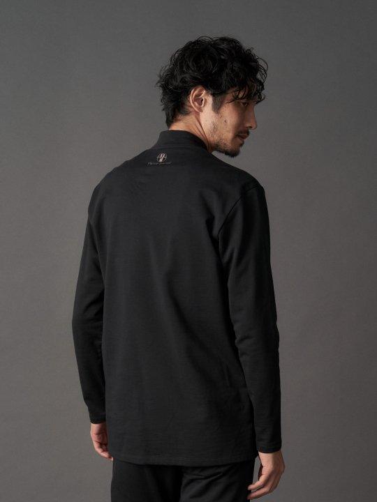 【PRE-ORDER】WAROBE / JUBAN SWEAT / BLACK photo