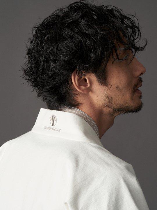 【PRE-ORDER】WAROBE / DENIM HANTEN / WHITE photo