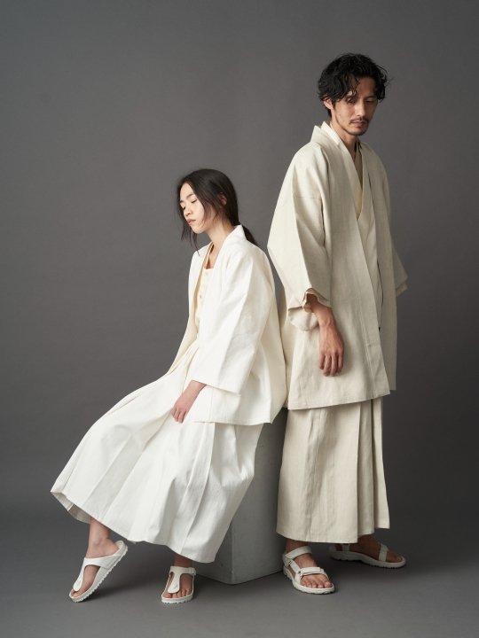 【PRE-ORDER】WAROBE / LINEN HAKAMA / KINARI photo
