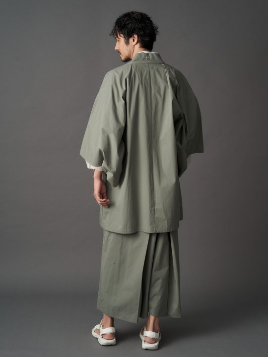 【PRE-ORDER】WAROBE / CORDURA HAKAMA / SAGE GREEN photo