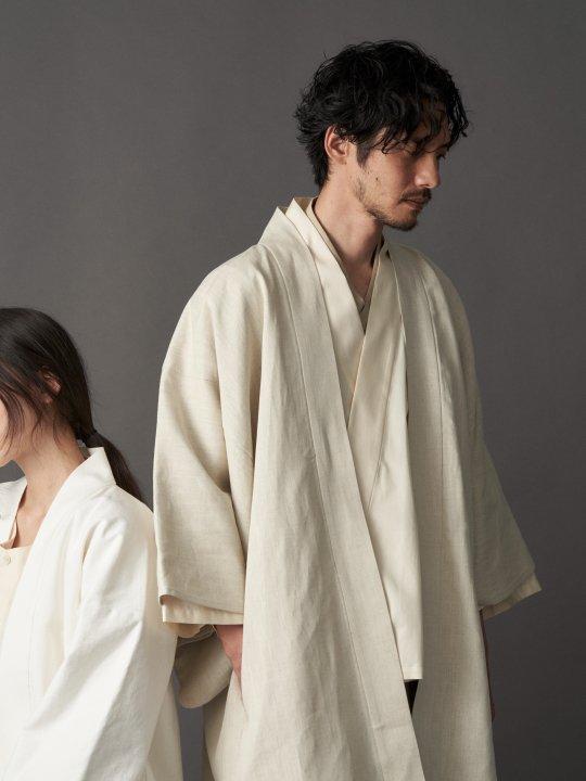 【PRE-ORDER】WAROBE / LINEN HAORI / KINARI photo