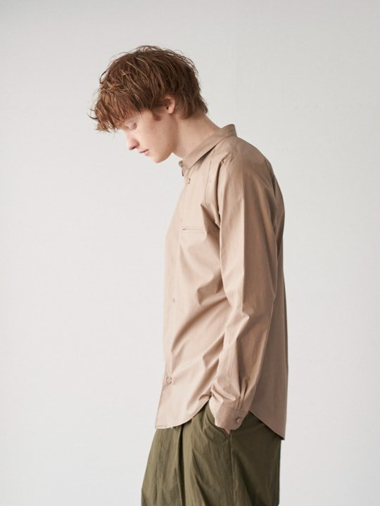 TROVE / INSIDE SHIRT ( SHOP LIMITED ) / GRAY BEIGE photo