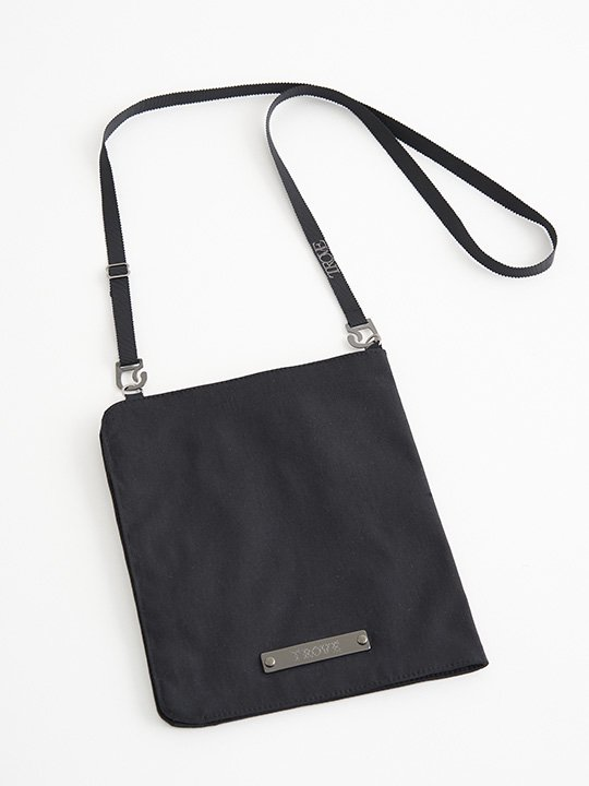 TROVE / NECK POUCH / BLACK photo