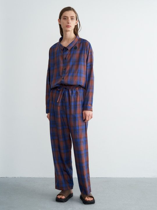 TROVE / TROVE PYJAMAS / CHECK photo