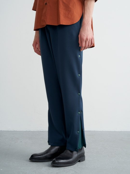 TROVE / LAIVA PANTS / BLUE GREEN photo