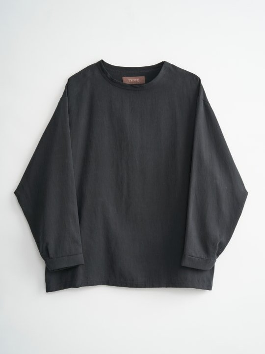 TROVE / VALO CREW NECK LONG SLEEVE / BLACK photo