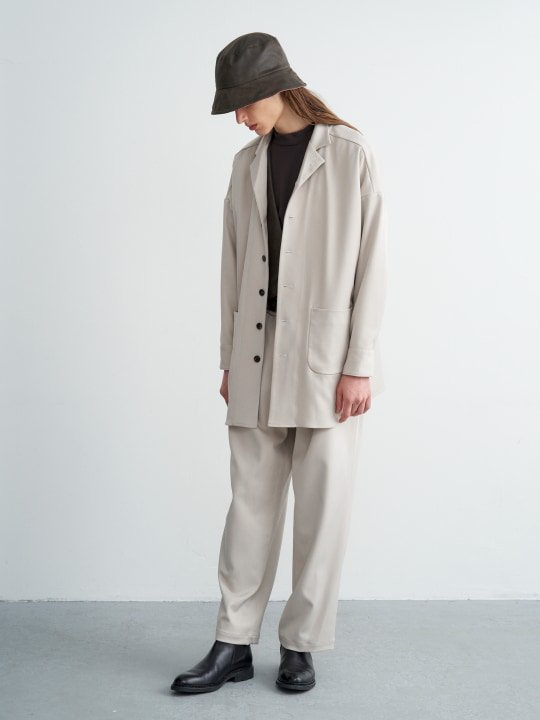 TROVE / MOOLI BLOUSON / ECRU photo